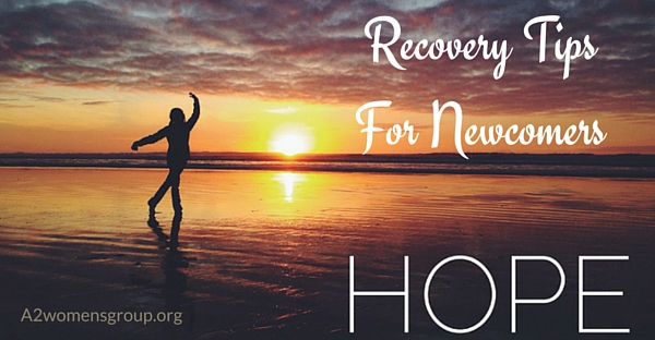 recovery tips for newcomers